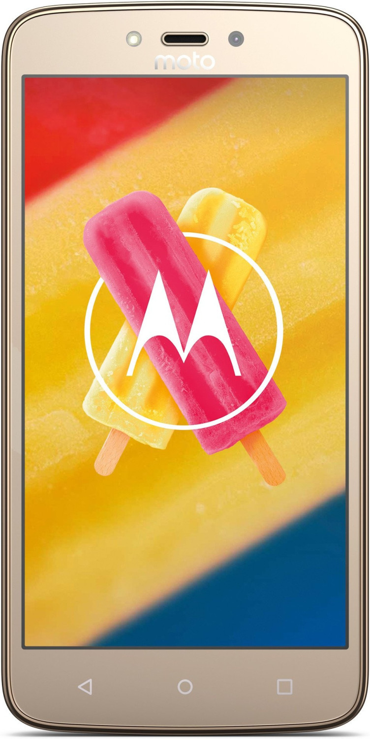 Motorola Moto C Plus whole gold