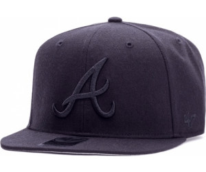 47 Brand Atlanta Braves Sure Shot Captain black