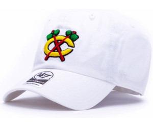 47 Brand Chicago Blackhawks Clean Up white