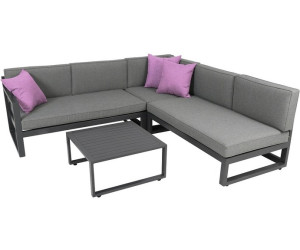 greemotion costa rica gartenlounge grau 2 x 2 sitzer. Black Bedroom Furniture Sets. Home Design Ideas