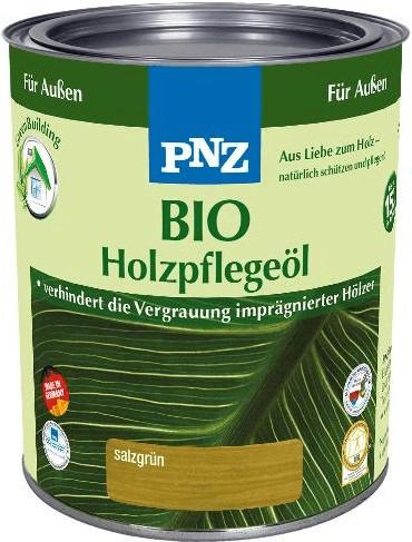 PNZ Bio Holzpflegeöl 0,75 l salzgrün