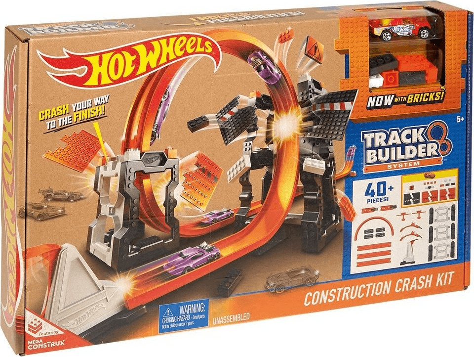 Hot Wheels Track Builder Mega Crashset