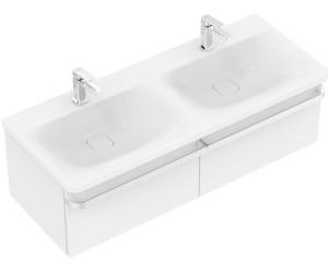 Ideal Standard TONIC II Doppelwaschtisch-Unterschrank eiche dekor ...