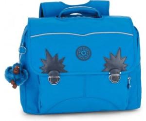 Cartable Kipling Iniko 40 cm CE2/CM1 Blue Green Mix bleu hoP45V