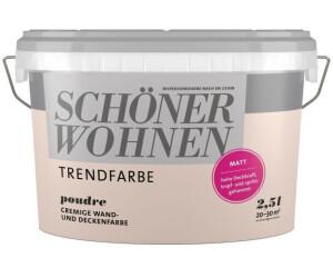 Schoner Wohnen Trendfarbe Matt 2 5 L Poudre Ab 23 19