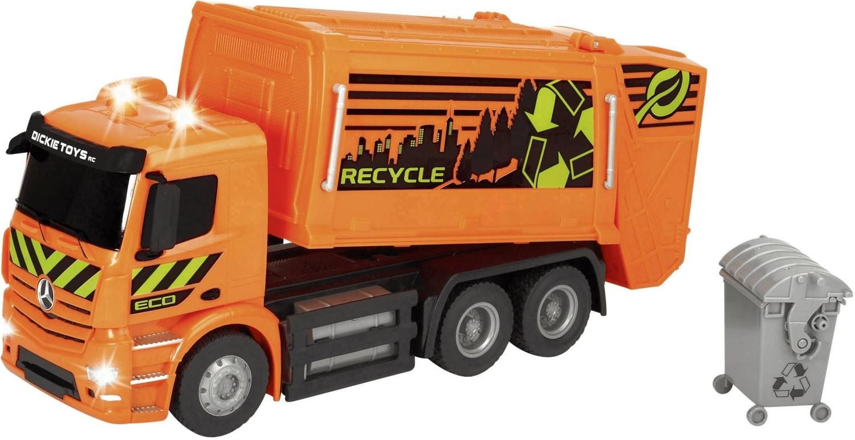 Dickie RC Mercedes-Benz Antos Garbage Truck RTR