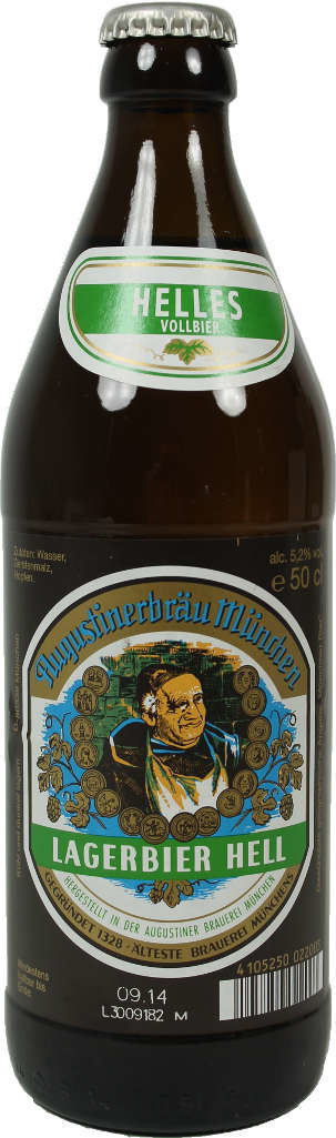 Augustiner hell 500 ml