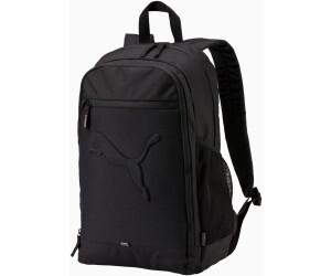 puma unisex black buzz backpack