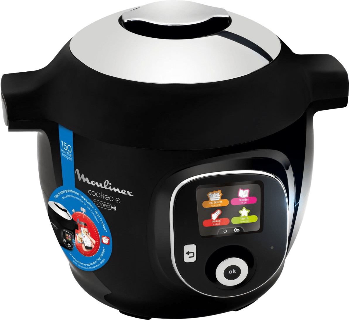 Image of Moulinex Cookeo + connect (YY2942FB) black