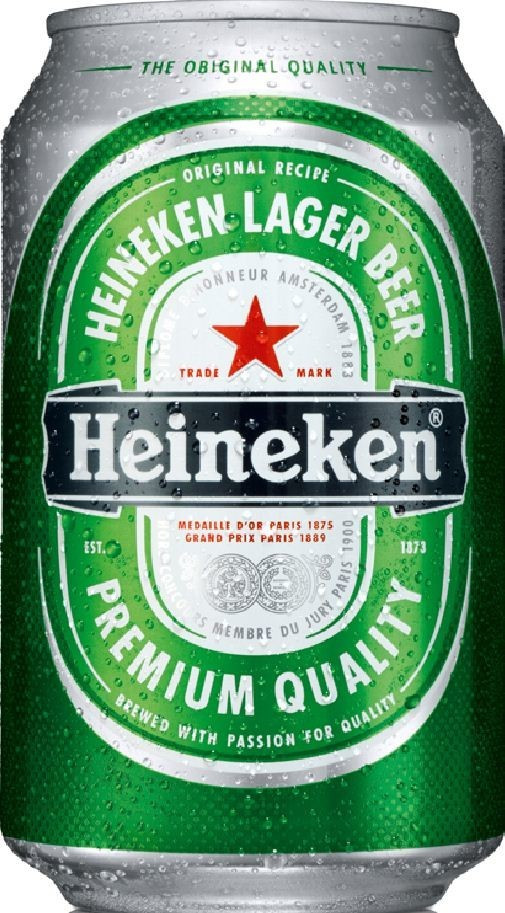 Heineken Lagerbier 0,33l Dose