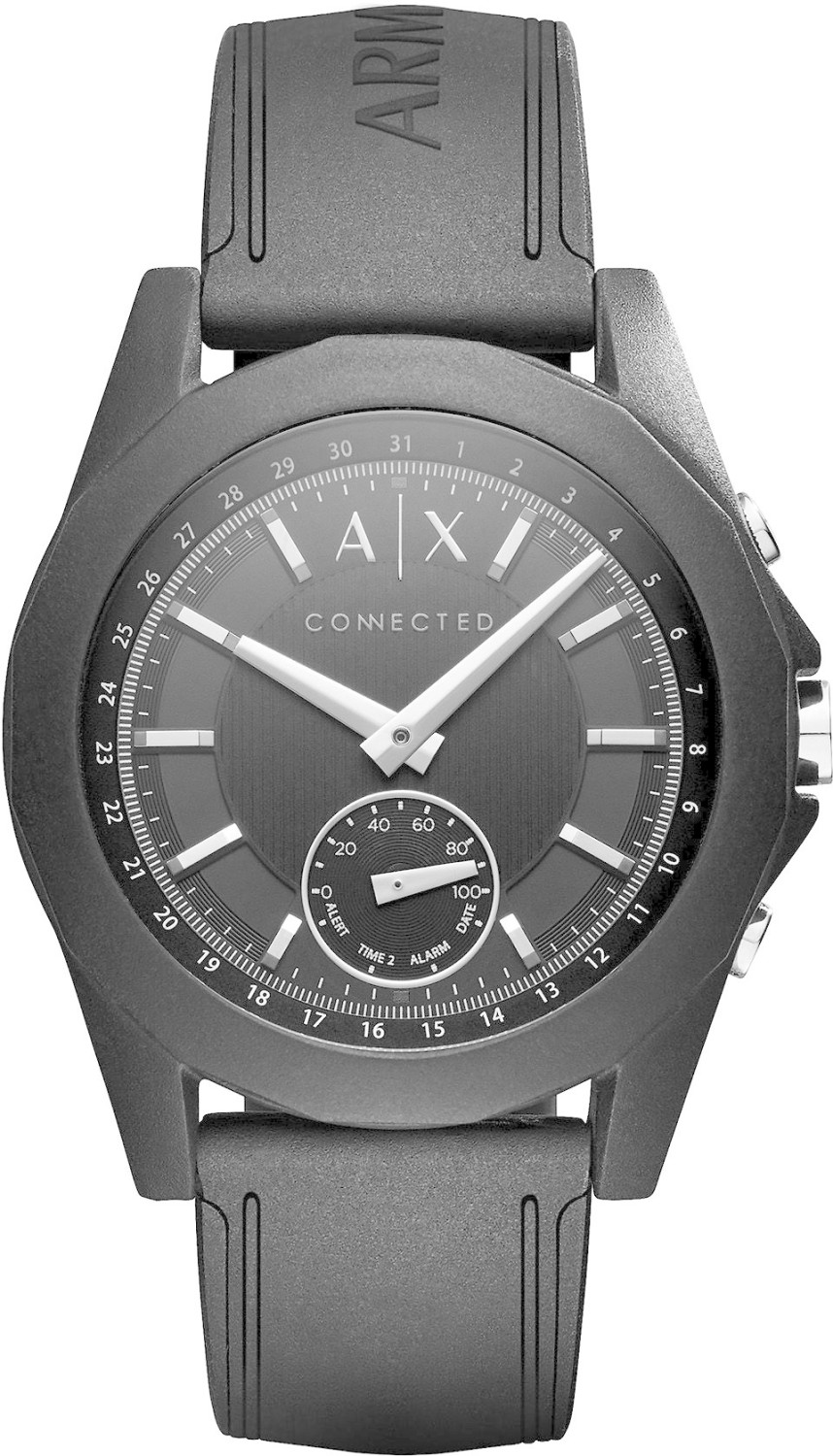Armani Exchange Connected schwarz silber