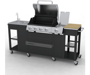 Outdoorküche Gas Ideal : Vidaxl g bbq kit 4 1 de model ab 371 99 u20ac preisvergleich bei idealo.de