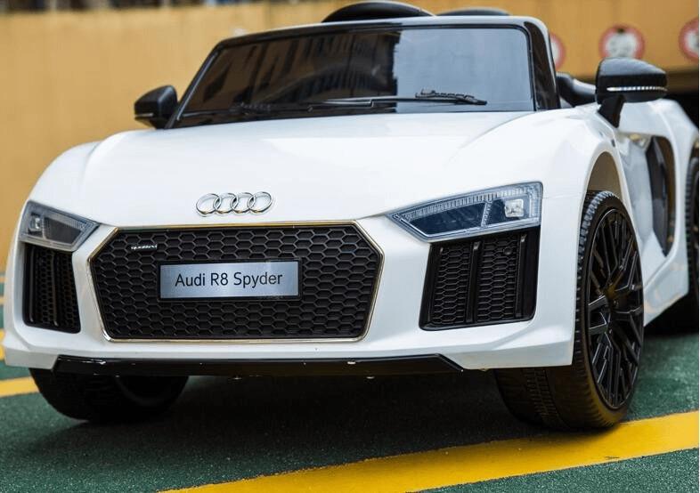 ES-Toys Kinderfahrzeug Elektro Auto Audi R8 12V...