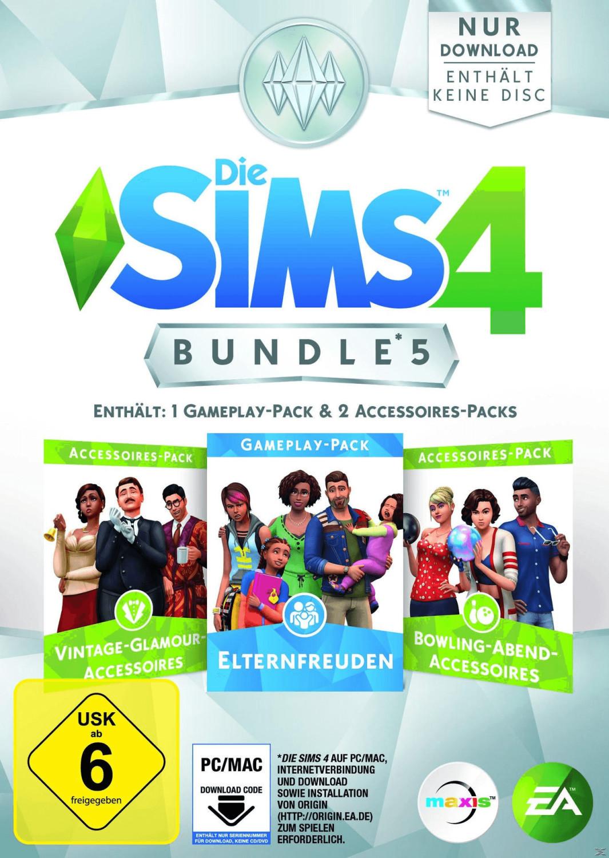 Die Sims 4: Bundle 5 - Elternfreuden + Vintage-...