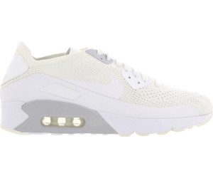Mens Nike Air Max 90 Ultra 2.0 Flyknit Pure PlatinumCool Grey White