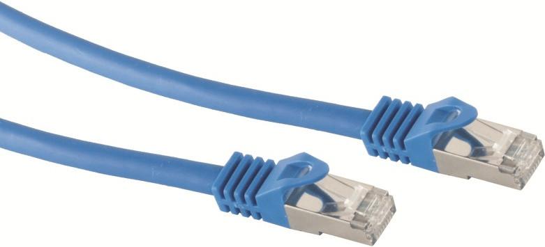 S-Conn Patchkabel CAT.7/6a S/FTP 20m Blau