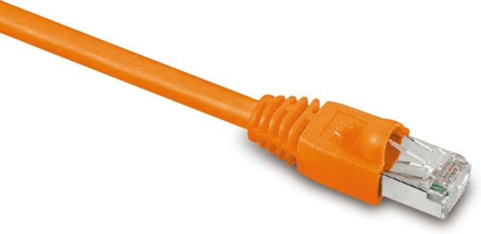 S-Conn Patchkabel CAT.7/6a S/FTP 2m Orange