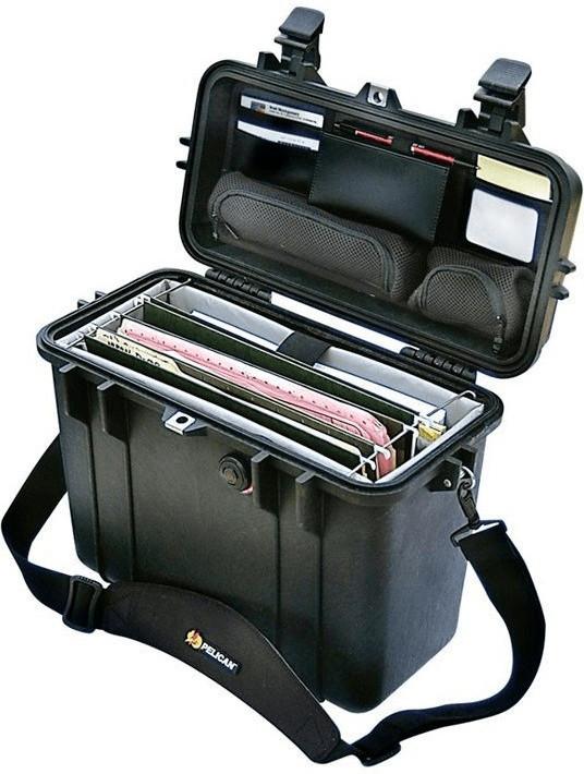 Peli Top Loader Case 1430 mit Divider Set schwarz