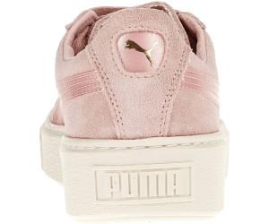 puma suede platform mono satin w scarpa