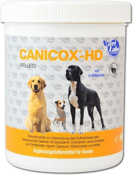 NutriLabs Canicox-HD Pellets 500g