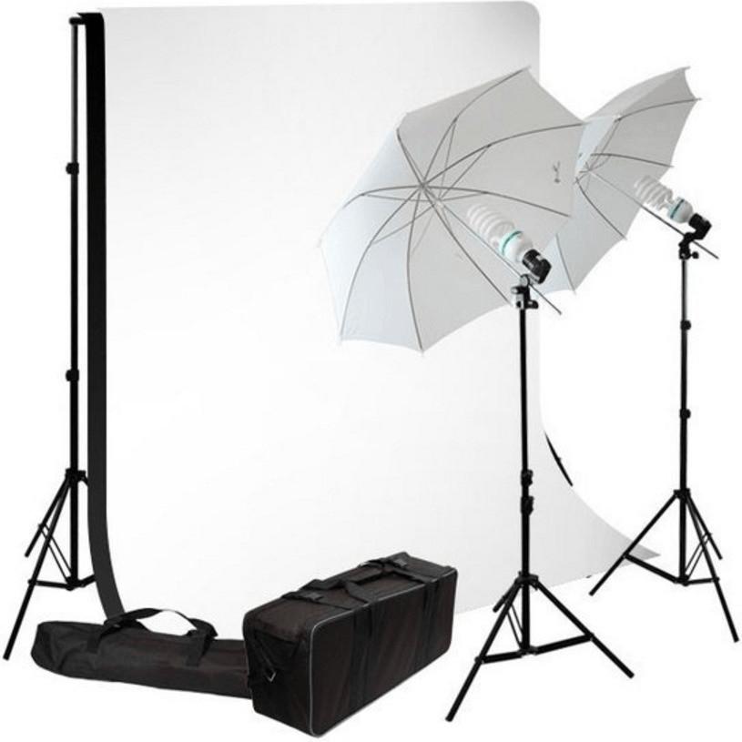 Bresser BR-2103 Tageslicht- und Hintergrund-Set...