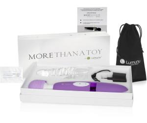 lumunu deluxe magic wand massager purple ab 38 99. Black Bedroom Furniture Sets. Home Design Ideas