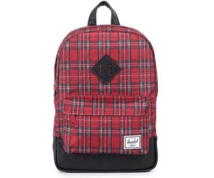 bd25eb70d29 Buy Herschel Heritage Kids Backpack red plaid from £36.66 – Best ...