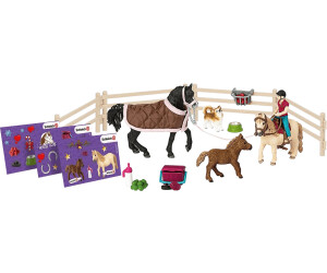 schleich adventskalender pferde 2017 ab 21 95. Black Bedroom Furniture Sets. Home Design Ideas