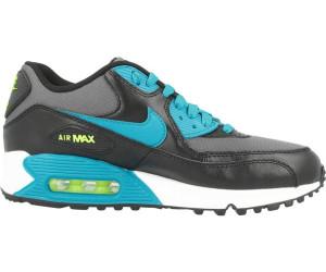 Nike Air Max 90 Mesh (GS) Schuhe white-grey-photo blue-black - 36,5