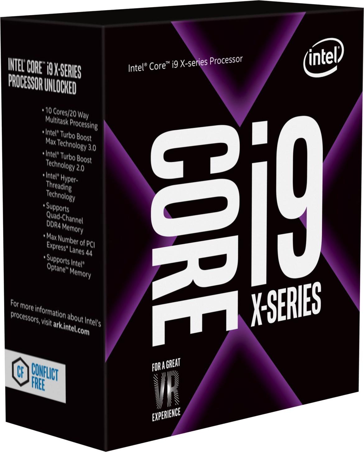 Intel Core i9-7900X Box WOF (Socket 2066, 14nm, BX80673I97900X)