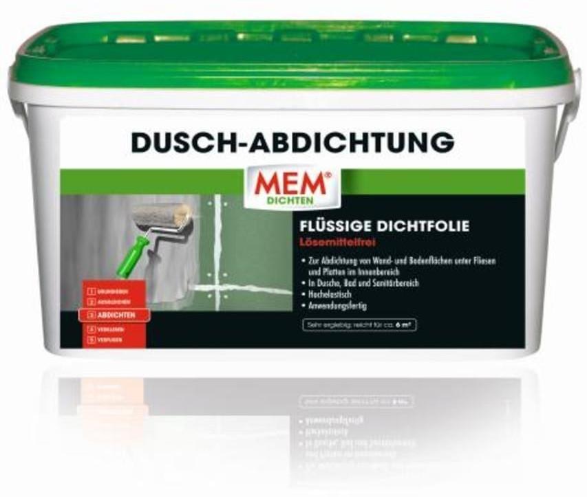 MEM Dusch-Abdichtung 8kg hellgrau