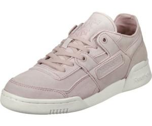 Reebok Workout Lo Plus Fbt, Sneakers Basses Femme, Rose (Shell Pink/Sandy Rose/Chalk), 38.5 EU