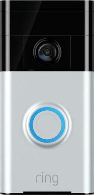 Ring Video Doorbell Motion Activated 720hd Video 2-way Talk Security Camera New