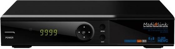 Medi@link ML6200 HEVC 265 IPTV 1 Card LAN Full HD