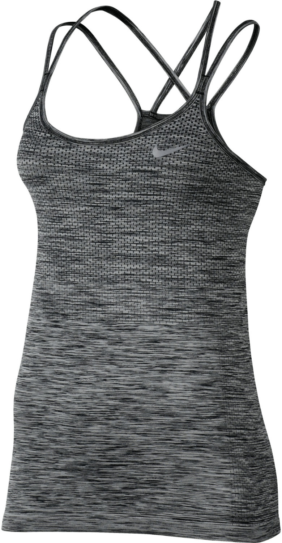 Image of Nike Dry Knit Women's Running Tank heather/heather