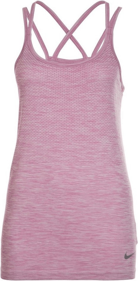 Image of Nike Dry Knit Women's Running Tank orchid/heather