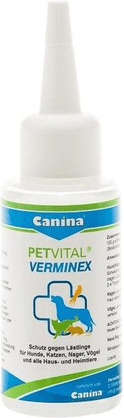 Canina Petvital Verminex 25 ml