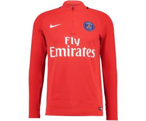 Nike Paris Saint-Germain Dry Squad Drill Training Top au ...