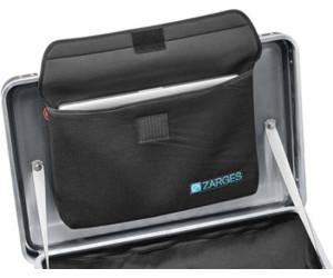 420x260x40 mm ca Zarges Boxen Deckeltasche groß für ZARGES Kiste Maße