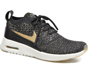72823eb3bbaa Nike Air Max Thea Ultra Flyknit black ivory metallic gold star ab ...