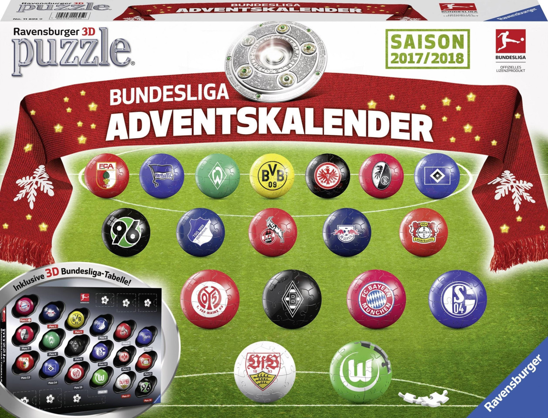 Ravensburger Adventskalender Bundesliga 2017