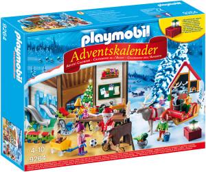 Calendrier De L Avent Playmobil Pas Cher.Playmobil Calendrier De L Avent Fabrique Du Pere Noel 9264
