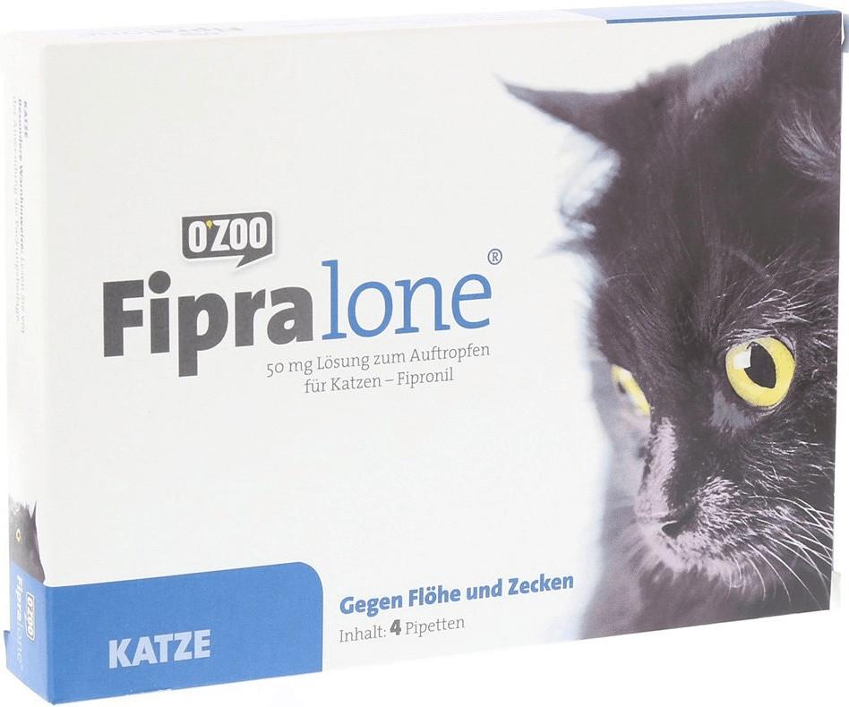 O Zoo GmbH Fipralone für Katzen 50 mg 4 Stück