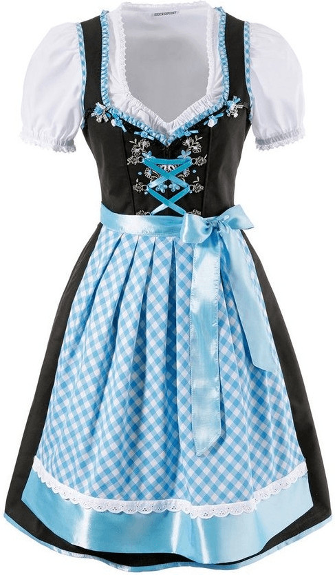 Stockerpoint Dirndl (81697557) blau