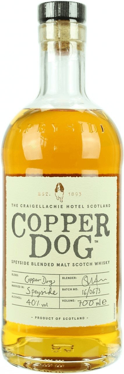 Image of Copper Dog Speyside Blended Malt Scotch Whisky 40% 0,7l