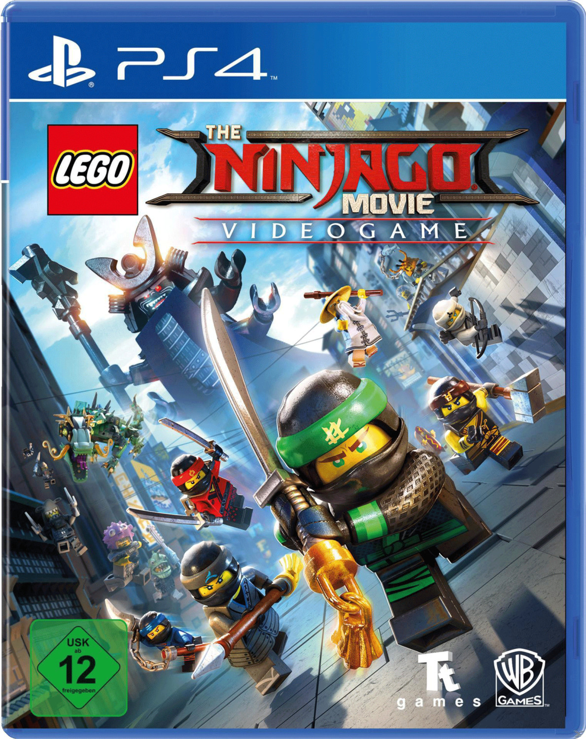 The Lego Ninjago Movie Videogame (PS4)