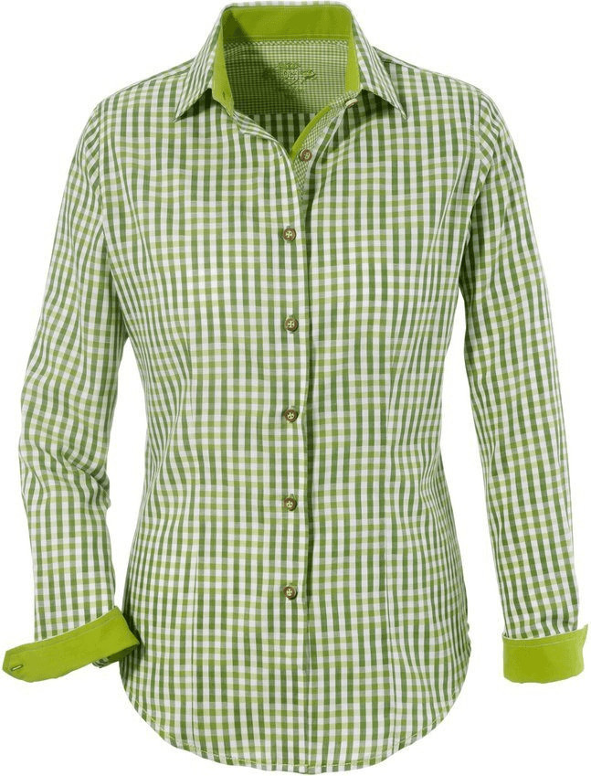 OS-Trachten Trachtenbluse (81697524) grün