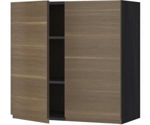 Ikea Metod Wandschrank Mit Boden Und 2 Turen 80x80cm Ab 97 00