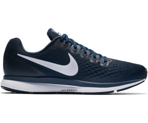 Nike Air Zoom Pegasus 34 obsidian neutral indigo blue recall white a ... e7721d3d7ab