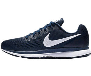 e9343f69df301 Nike Air Zoom Pegasus 34 Running Shoes. obsidian/neutral indigo/blue recall /white